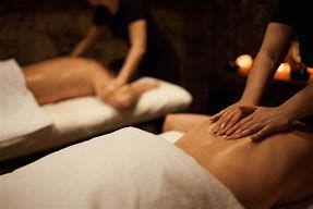 Massage en duo avec Christophe