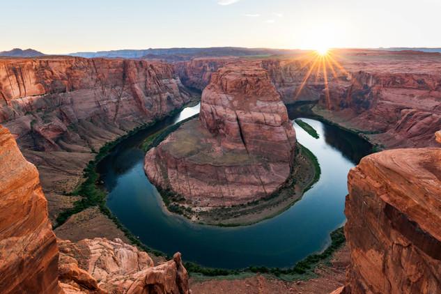 Horseshoe Bend Sunset (Arizona)