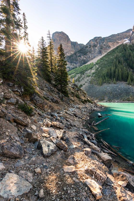 Speckled Light (Banff NP)