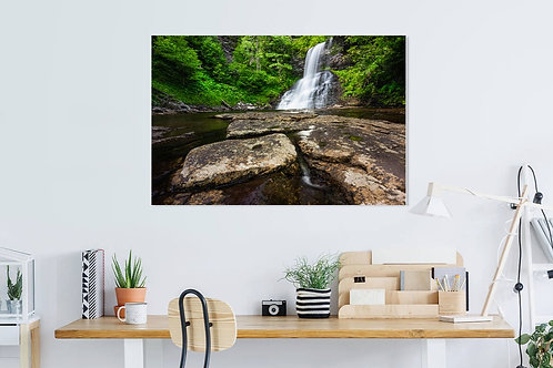 Metal or Canvas Print: The Cascades