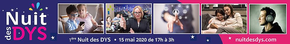 Accueil 1ère Nuit des Dys • 15 mai 2020