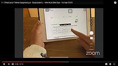 L'iPad pour l'élève dyspraxique Magali Netrval