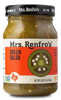 Mrs Renfros Green Salsa 454g