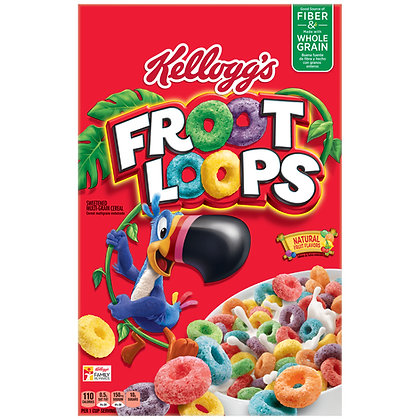 Kellogg's Froot Loops USA 286g
