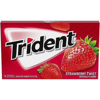 Trident Strawberry Twist 14 Sticks