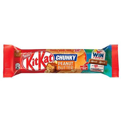 KitKat Chunky Peanut Butter Chocolate Bar 42g