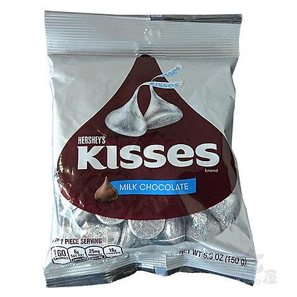Hershey's Kisses Milk & Chocolate 150g