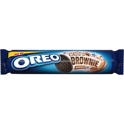 Nabisco Oreo Brownie Sandwich Biscuit 154g