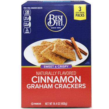 Best Yet Cinnamon Graham Crackers 408g