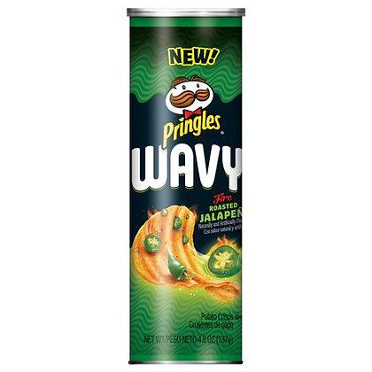 Pringles Wavy Fire Roasted Jalapeño 137g