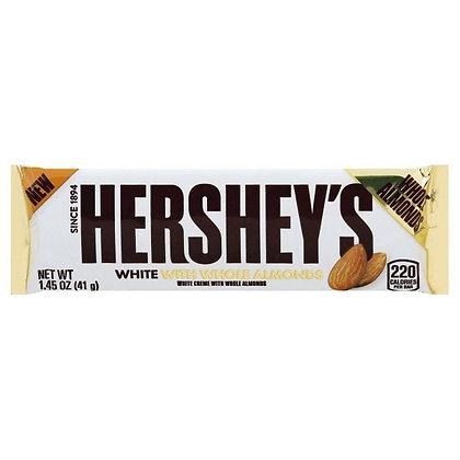 Hershey's White Chocolate Whole Almonds 41g
