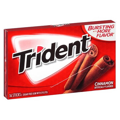 Trident Cinnamon Canela 14 pcs