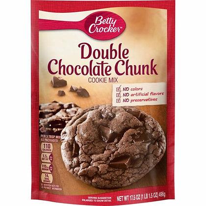 Betty Crocker Double Chocolate Chunk Cookie Mix 496g