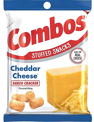 Combos Cheddar Cheese Baked Cracker 178,6g