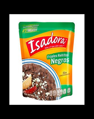 Frijol Negro Refrito 430g Isadora