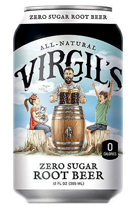 Virgil's Zero Sugar Root Beer 355ml