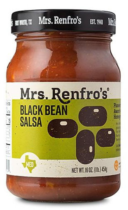 Mrs Renfros Black Bean Salsa 454g