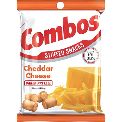 Combos Cheddar Cheese Baked Pretzel 178g