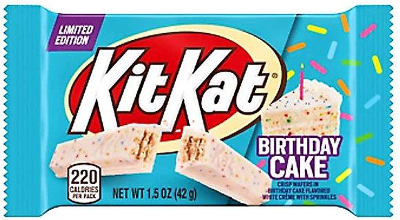 Kit Kat Birthday Cake 42g