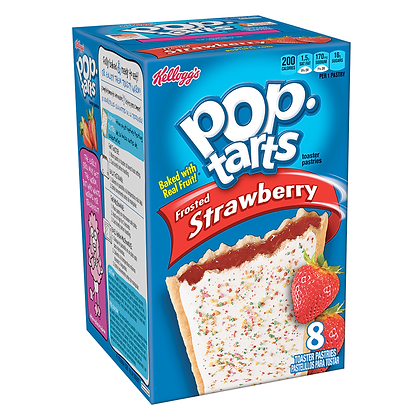 Kellogg's Pop Tarts Frosted Strawberry 384g