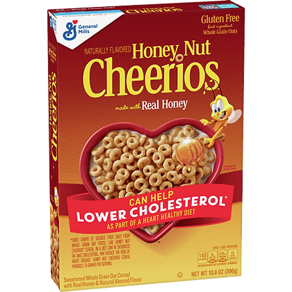 GM Cheerios Honey Nut 306g