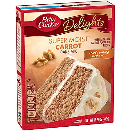 Super Moist Carrot Cake Mix BC 432g