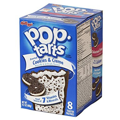 Kellogg's Pop Tarts Cookies & Cream 384g