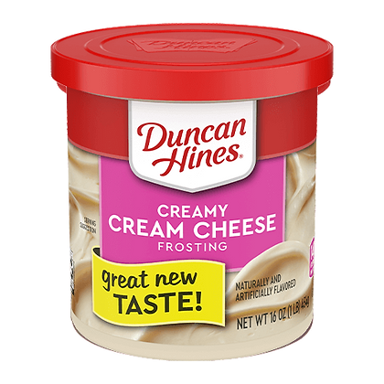 Duncan Hines Frosting Cream Cheese 453g