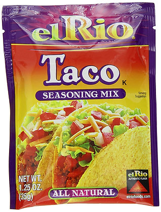 El Rio Taco Seasoning Mix 35g