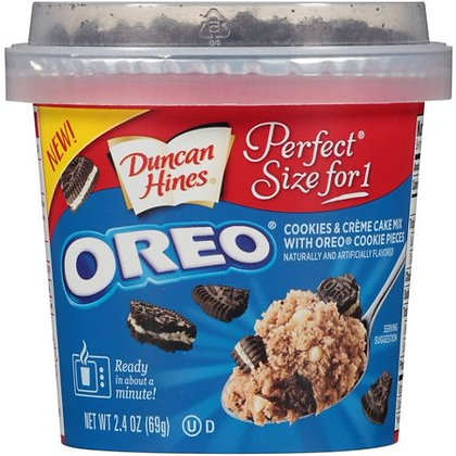 Oreo Cake Cup Duncan Hines 69g