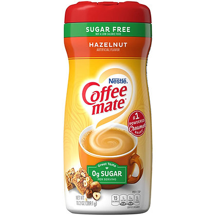 Coffee Mate Hazelnut Sugar Free 289g
