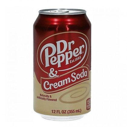 Dr Pepper Vainilla Cream Soda 355ml