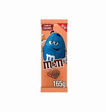 M&Ms Crunchy Caramel Bar 165g