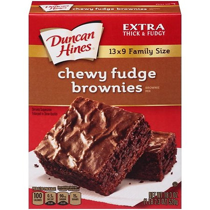 DH Chewy Fudge Brownie Mix 565g