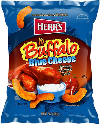 Herr's Buffalo Blue Cheese Curls 198,5g