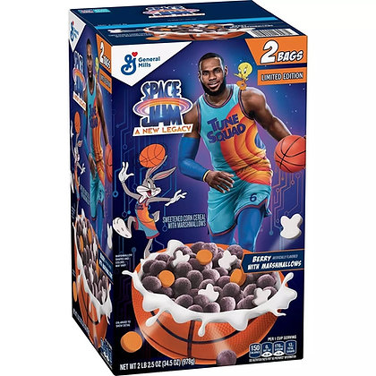 Space Jam Cereal Berry Marshmallows 978g