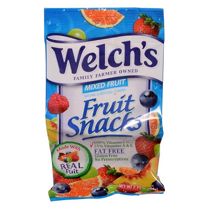 Welch's Mixed Fruit Fruit Snacks 64g