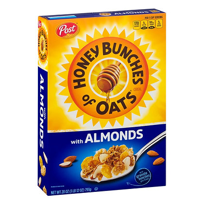 Post Honey Bunches of Oats with Almonds 411g