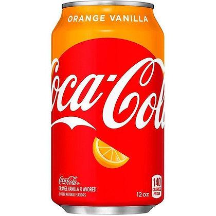 Coca Cola Orange Vainilla 355ml