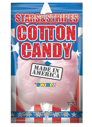 Stars and Stripes Cotton Candy 87g