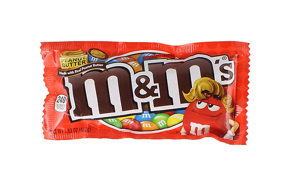 M&M's Peanut Butter Chocolate 46,2g