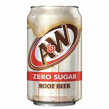 A&W Zero Root Beer 355ml