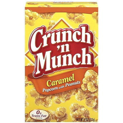 Crunch N Munch Caramel Popcorn 99g