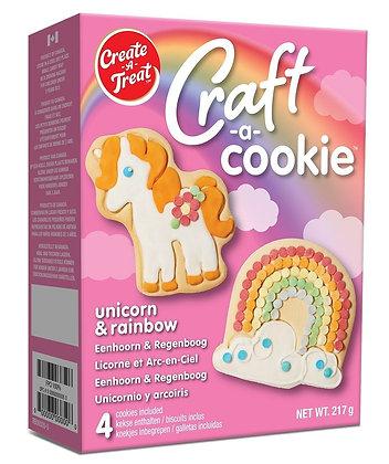 Unicornio y Arcoiris Cookie Kit Create a Treat 217g