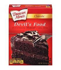 Duncan Hines Devil's Food Cake Mix 432g