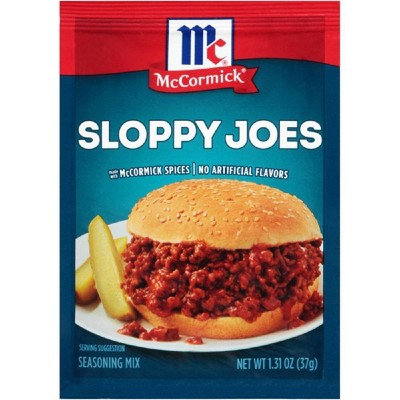McCormick Sloppy Joes Seasoning Mix 37g