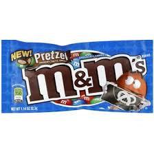 M&M´s Pretzel Crunchy, Salty, Sweet 32,3 g