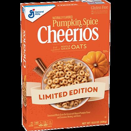 GM Cheerios Pumpkin Spice 306g