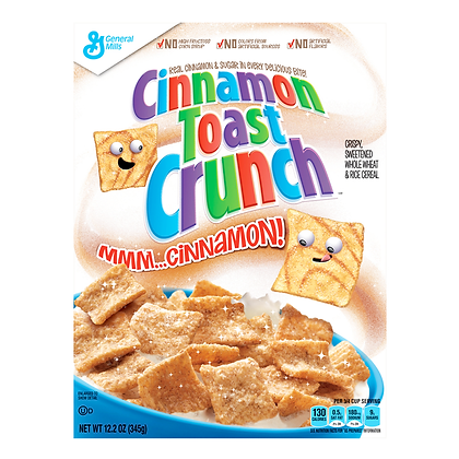 GM Cinnamon Toast Crunch 340g