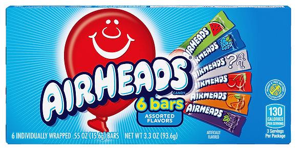 Airheads 6 Bars 93,6g
